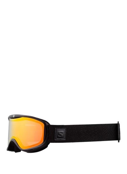 SALOMON Skibrille SENSE PHOTOCHROMIC, Farbe: SCHWARZ/ ORANGE (Bild 1)