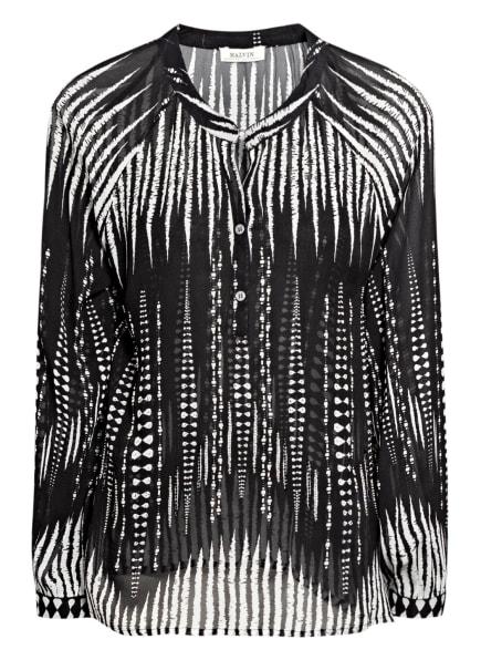 MALVIN Blusenshirt , Farbe: SCHWARZ/ WEISS (Bild 1)