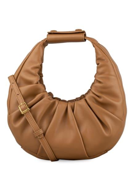 STAUD Handtasche MOON SOFT MINI, Farbe: HELLBRAUN (Bild 1)