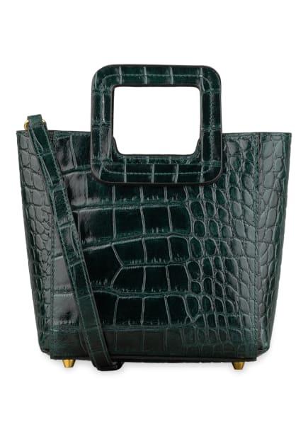 STAUD Handtasche SHIRLEY SMALL mit Pouch, Farbe: GRÜN (Bild 1)
