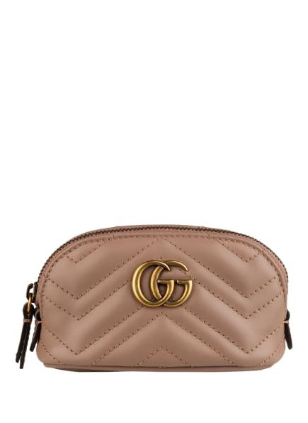 GUCCI Schlüsselanhänger GG MARMONT mit Geldbörse, Farbe: ROSÉ (Bild 1)