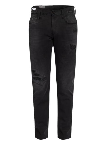 REPLAY Jeans ANBASS HYPERFLEX Slim Fit, Farbe: 098 BLACK (Bild 1)
