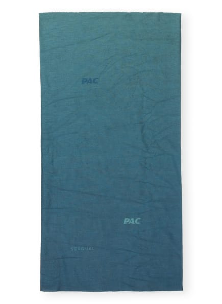 P.A.C. Multifunktionstuch OCEAN UPCYCLING, Farbe: PETROL (Bild 1)