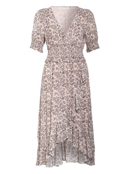 MICHAEL KORS Kleid in Wickeloptik , Farbe: ROSÉ/ SCHWARZ (Bild 1)