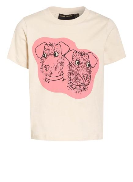 mini rodini T-Shirt, Farbe: ECRU/ ROSA/ SCHWARZ (Bild 1)