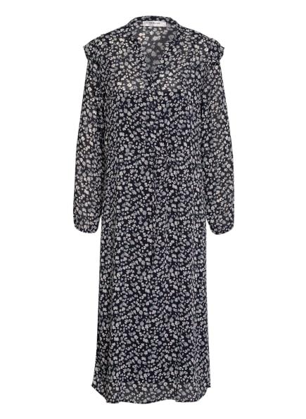 MOSS COPENHAGEN Kleid MAELLA, Farbe: DUNKELBLAU/ WEISS (Bild 1)