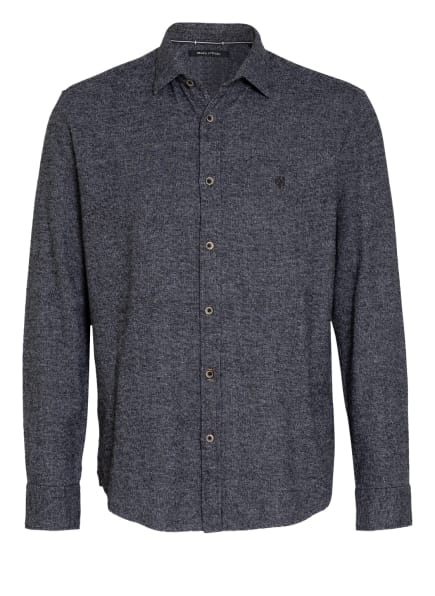 Marc O'Polo Hemd Regular Fit, Farbe: DUNKELGRAU/ HELLGRAU (Bild 1)