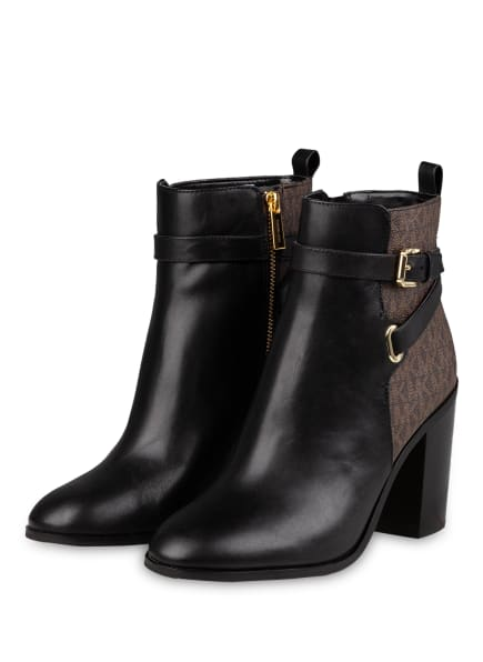 MICHAEL KORS Stiefeletten ALDRIDGE, Farbe: 007 Black/brown (Bild 1)