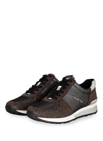 MICHAEL KORS Plateau-Sneaker ALLIE, Farbe: 212 BROWN MULTI W/ 18K (Bild 1)
