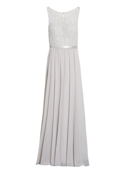 LAONA Abendkleid mit Pailletten- und Schmucksteinbesatz , Farbe: HELLGRAU (Bild 1)