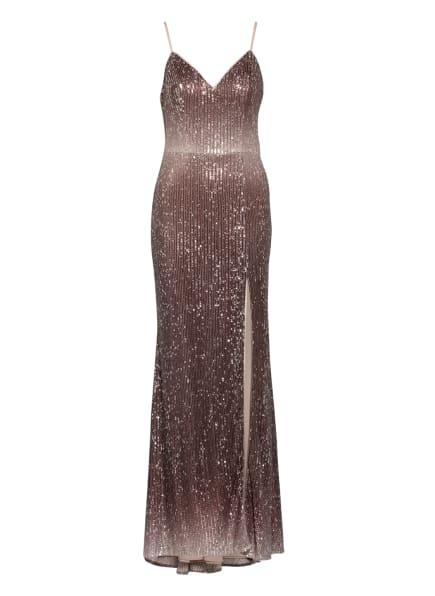 unique Abendkleid mit Stola, Farbe: TAUPE (Bild 1)