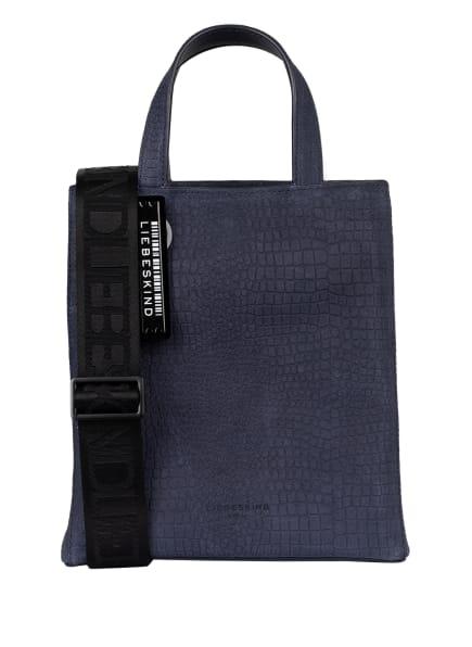 LIEBESKIND Berlin Shopper PAPER BAG SMALL , Farbe: DUNKELBLAU (Bild 1)