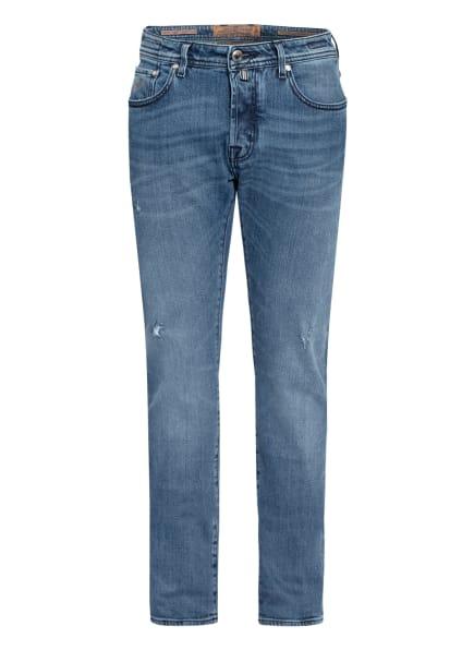 JACOB COHEN Jeans J688 LTD COMFORT LIMITED Slim Fit, Farbe: W3 hellblau, beige (Bild 1)