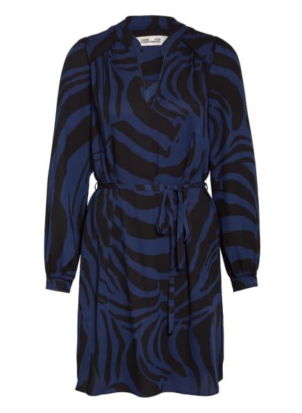 DIANE VON FURSTENBERG Kleid GLENDA, Farbe: BLAU/ SCHWARZ (Bild 1)