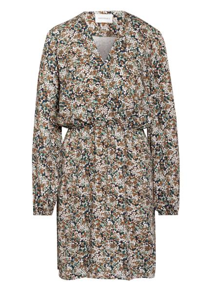 ARMEDANGELS Kleid MEGAAN HEATHER WINTER, Farbe: DUNKELBLAU/ BRAUN/ WEISS (Bild 1)