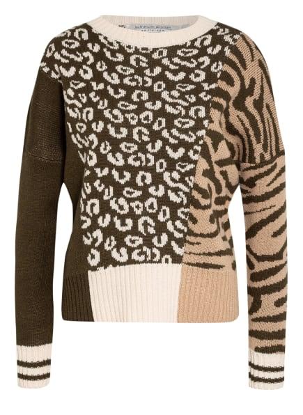 summum woman Pullover , Farbe: KHAKI/ BEIGE/ CREME (Bild 1)