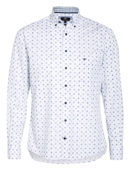 FYNCH-HATTON Hemd Casual Fit , Farbe: WEISS/ BLAU/ SCHWARZ (Bild 1)