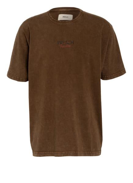 PREACH T-Shirt, Farbe: BRAUN (Bild 1)