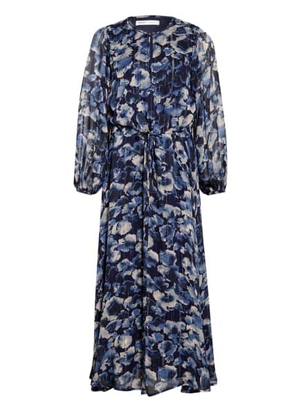 InWear Kleid GERTIE mit Glitzergarn, Farbe: DUNKELBLAU/ CREME/ SILBER (Bild 1)