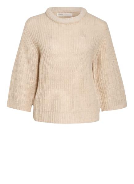InWear Pullover AMARI mit 3/4-Arm, Farbe: BEIGE/ GOLD (Bild 1)