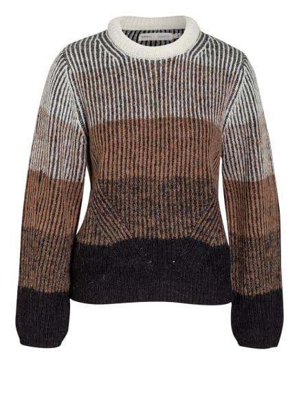 InWear Pullover AVIANA, Farbe: SCHWARZ/ WEISS/ BEIGE (Bild 1)