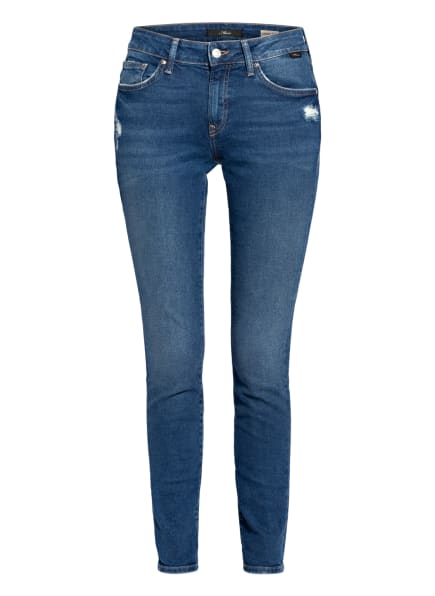 mavi Skinny Jeans ADRIANA , Farbe: 32664 dark blue denim (Bild 1)