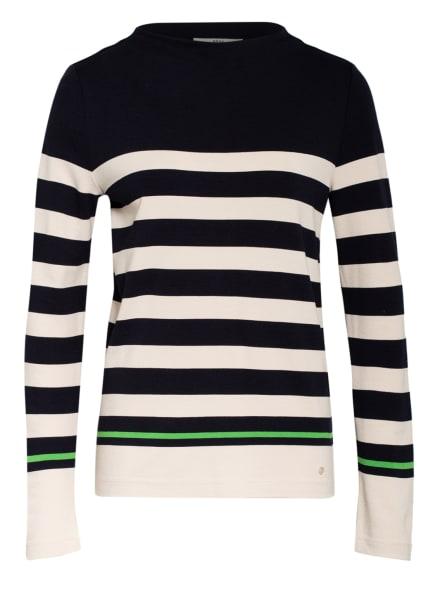 BRAX Sweatshirt, Farbe: DUNKELBLAU/ ECRU (Bild 1)