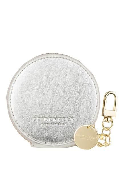 SEIDENFELT Münzetui, Farbe: SILBER (Bild 1)