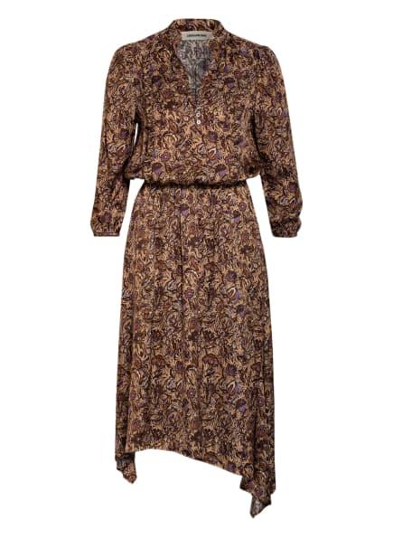 ZADIG&VOLTAIRE Kleid, Farbe: CREME/ LILA/ BRAUN (Bild 1)