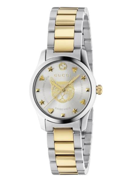 GUCCI Armbanduhr G-TIMELESS , Farbe: SILBER/ GOLD (Bild 1)
