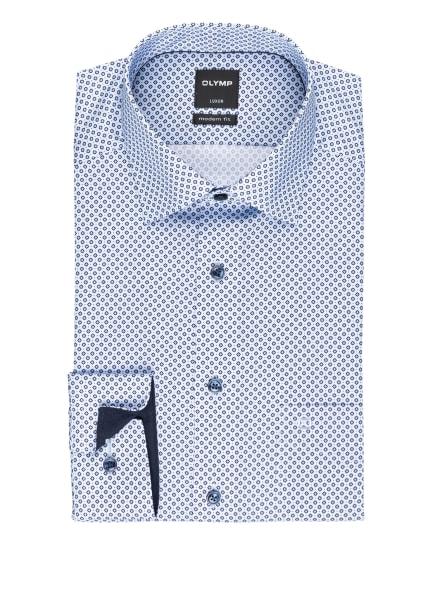 OLYMP Hemd Luxor modern fit, Farbe: HELLBLAU/ DUNKELBLAU (Bild 1)