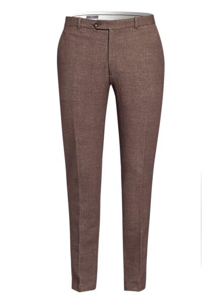 CIRCOLO 1901 Chino Extra Slim Fit, Farbe: BRAUN/ CREME (Bild 1)
