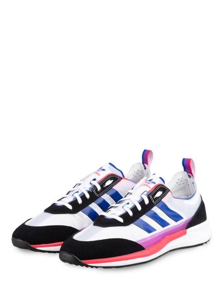 adidas Originals Sneaker SL 7200 PRIDE, Farbe: SCHWARZ/ WEISS/ BLAU (Bild 1)