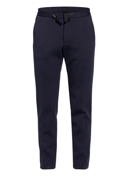 BOSS Anzughose BANKS im Jogging-Stil Slim Fit , Farbe: 402 DARK BLUE (Bild 1)