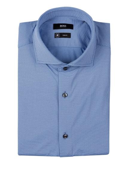 BOSS Hemd JASON Slim Fit, Farbe: BLAU/ WEISS (Bild 1)