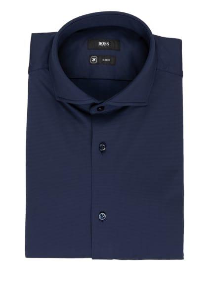 BOSS Jerseyhemd JASON Slim Fit, Farbe: DUNKELBLAU (Bild 1)