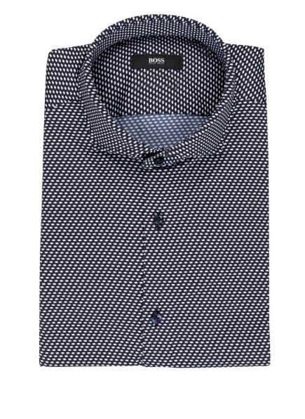 BOSS Jerseyhemd JASON Slim Fit, Farbe: DUNKELBLAU/ WEISS (Bild 1)