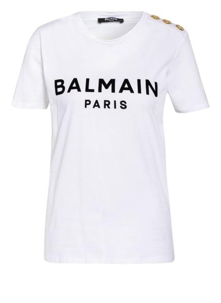 BALMAIN T-Shirt, Farbe: WEISS/ SCHWARZ (Bild 1)