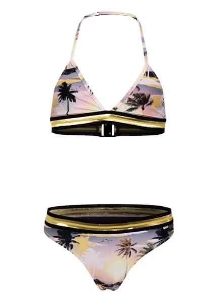 molo Triangel-Bikini NICOLETTA , Farbe: GELB/ NUDE/ OLIV (Bild 1)