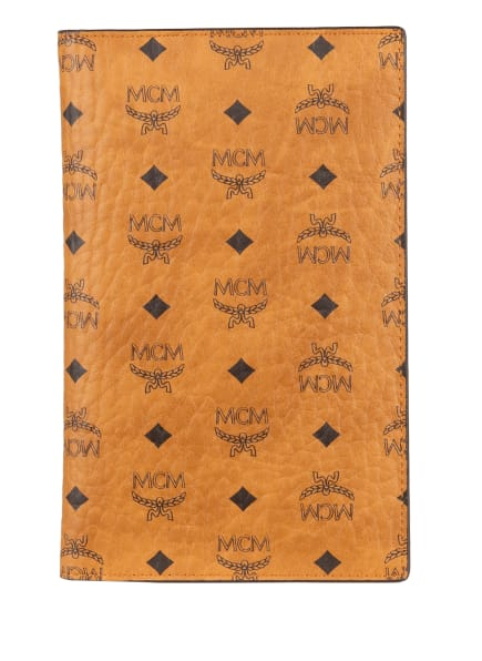 MCM Reisepass-Etui VISETOS ORIGINAL mit Pouch, Farbe: COGNAC (Bild 1)