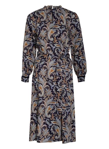 MORE & MORE Kleid , Farbe: DUNKELBLAU/ WEISS/ HELLORANGE (Bild 1)