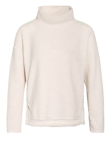 OPUS Teddyfell-Pullover GABRI, Farbe: CREME (Bild 1)
