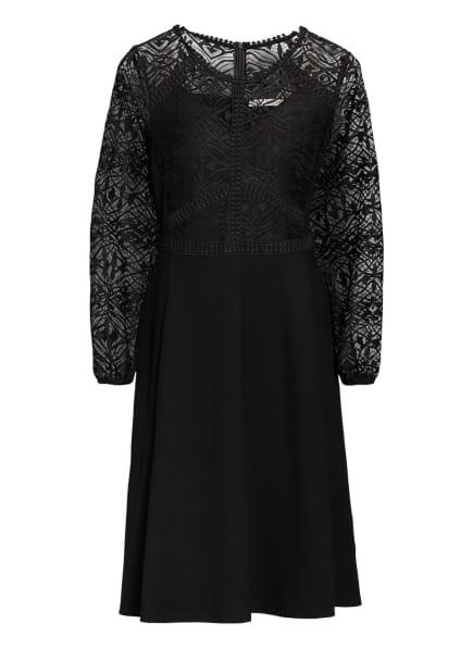 BETTY&CO Kleid mit Spitzenbesatz , Farbe: SCHWARZ (Bild 1)