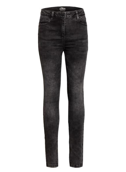 s.Oliver RED Jeans Slim Fit , Farbe: SCHWARZ (Bild 1)