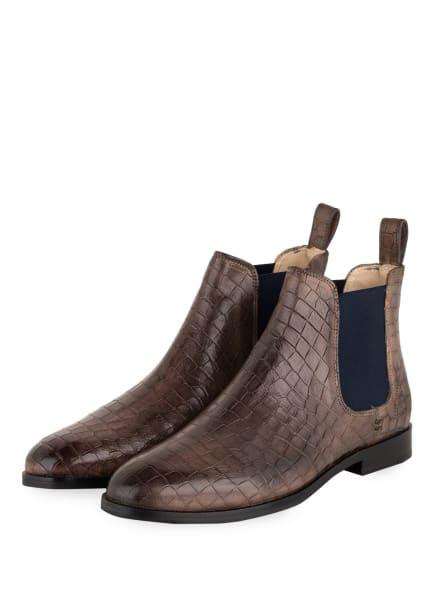 MELVIN & HAMILTON Chelsea-Boots SUSAN, Farbe: BRAUN (Bild 1)