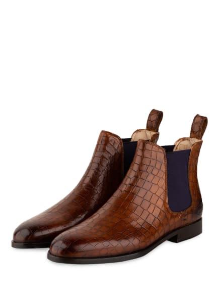 MELVIN & HAMILTON Chelsea-Boots SUSAN , Farbe: HELLBRAUN (Bild 1)