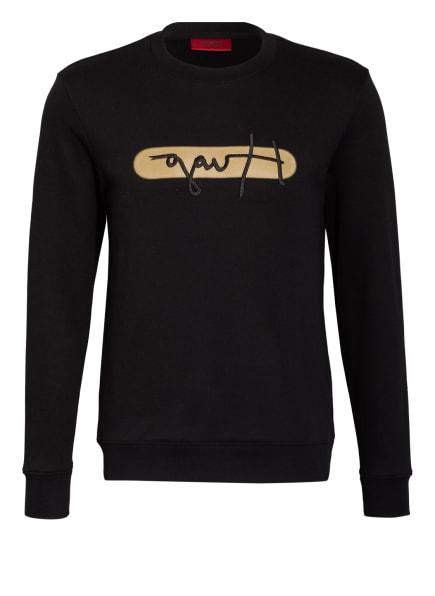 HUGO Sweatshirt DICAGO, Farbe: SCHWARZ (Bild 1)