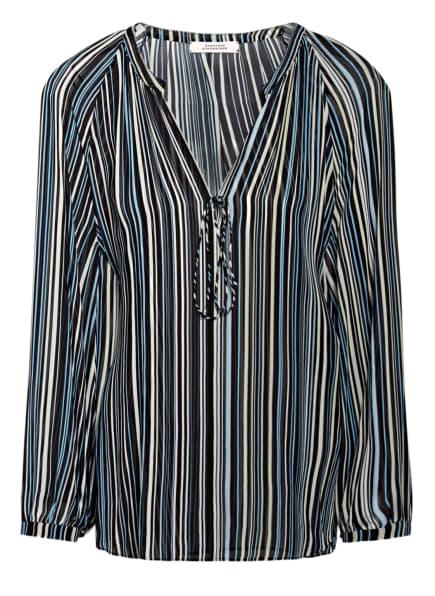 DOROTHEE SCHUMACHER Blusenshirt FLOWING STRIPES , Farbe: HELLBLAU/ TÜRKIS/ DUNKELBLAU (Bild 1)