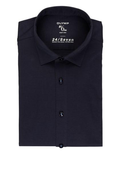 OLYMP Jerseyhemd No. Six 24/7 super slim, Farbe: DUNKELBLAU (Bild 1)