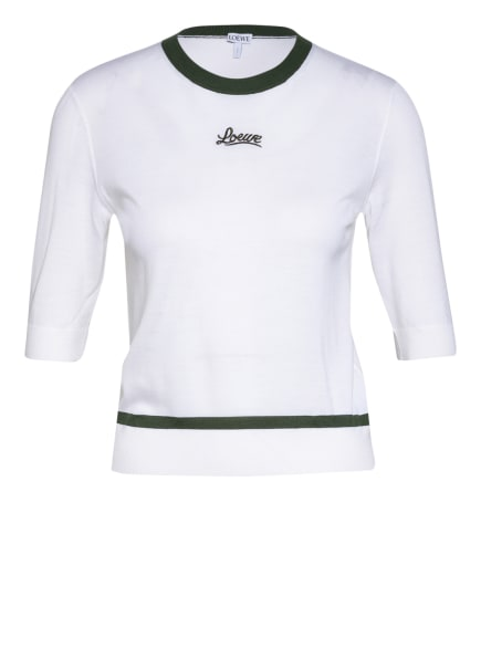 LOEWE Strickshirt, Farbe: ECRU/ OLIV (Bild 1)